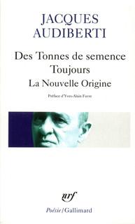 DES TONNES DE SEMENCE, TOUJOURS, LA NOUVELLE ORIGINE