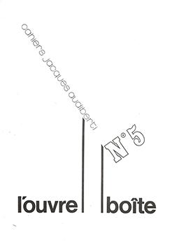 L'OUVRE-BOÎTE N° 5