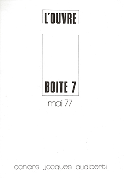 L'OUVRE-BOÎTE N° 7