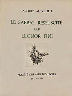 LE SABBAT RESSUSCITÉPAR LEONOR FINI